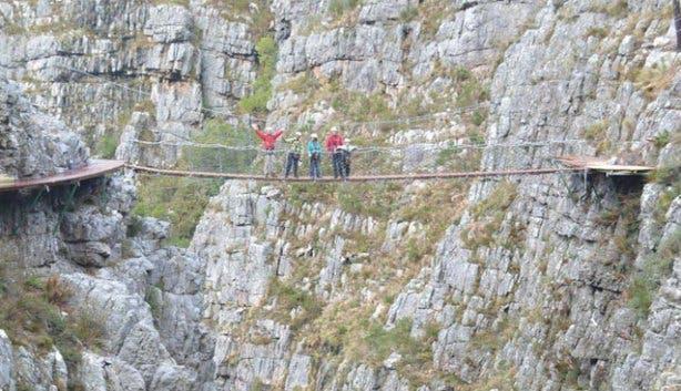 Cape Canopy Tour Bridge