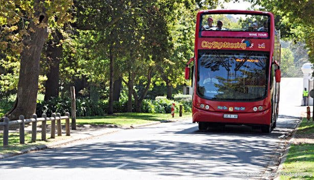 Sightseeing Bus Tours Groot Constantia