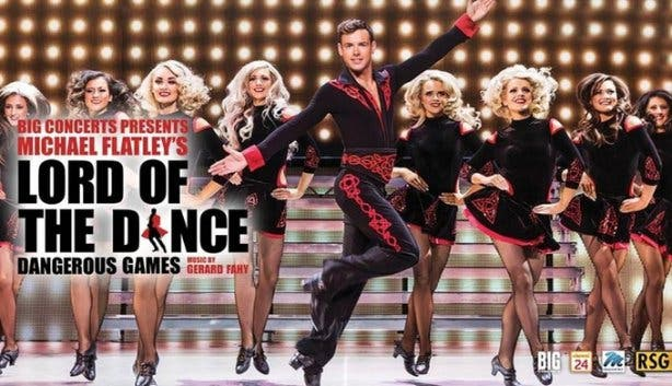 Michael Flatley Lord of the Dance Dangerous Games 2017