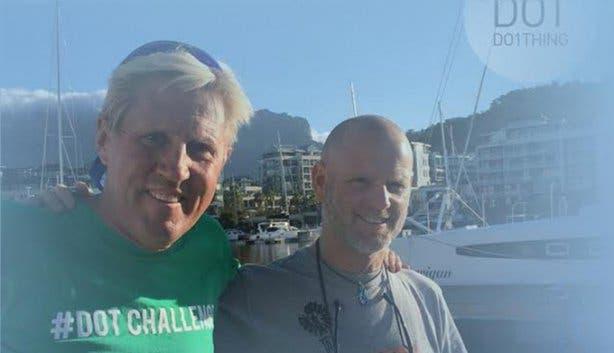 Live Satellite Interview for DOTChallenge at Cape Quarter