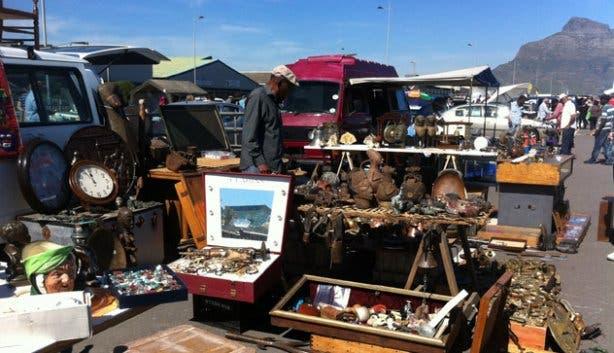 Milnerton Flea Market Paarden Eiland Cape Town