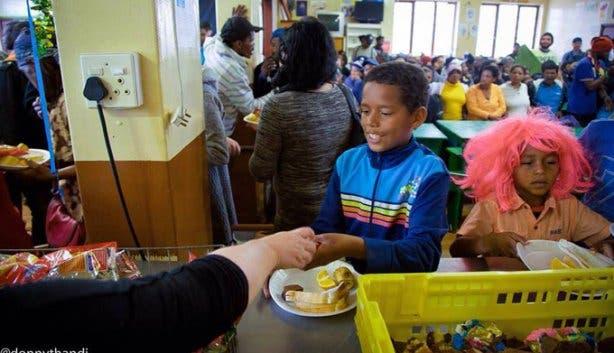 Feeding the less fortunate