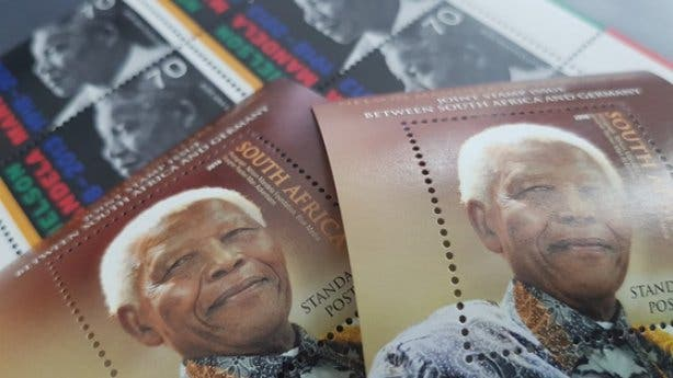 Nelson Mandela Gemeinschaftsbriefmarke 1