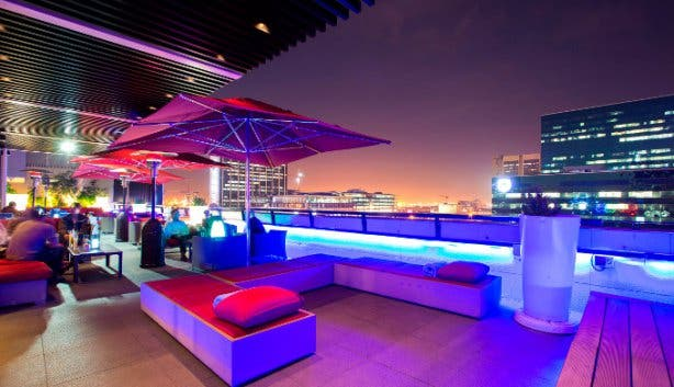 Harald's Bar and Terrace at Park Inn Foreshore in Cape Town