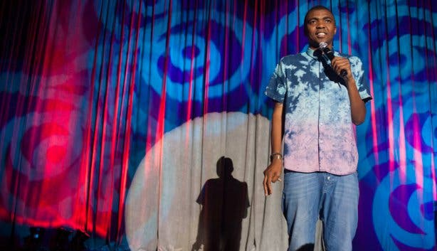 Loyisa Gola at Jou Ma Se Comedy Club