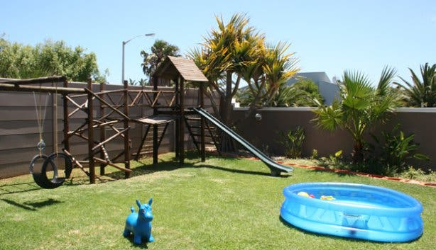 Kid's play area at Colours of Cape Town cheap accommodation