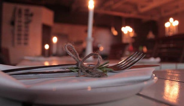 Homespun Restaurant Table Settings Table View