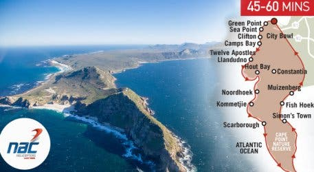 NAC Cape Point Tour Route Map