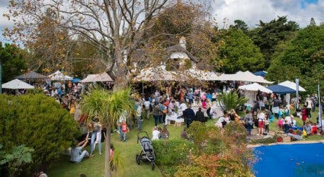 What Do You Think You'll Find At A Secret Garden Market?