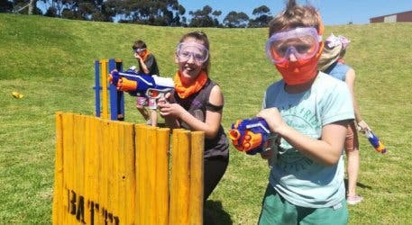 Host A Nerf Battle For A Party Your Kids Will Never Forget