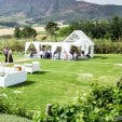 Wedding reception party at Kleinevalleij near Cape Town