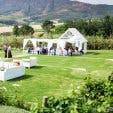 Wedding reception party at Kleinevalleij near Cape Town