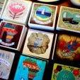 Art blocks from Baraka Cape Quarter store