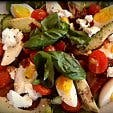 Tin Noakes Diet Salad from Rcaffe menu
