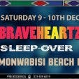 Braveheartz MCC Sleepover Party