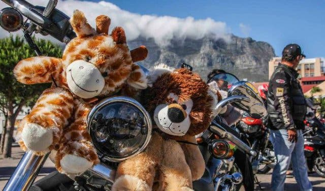 Bikers Doing Good For Kids At The Toy Run
