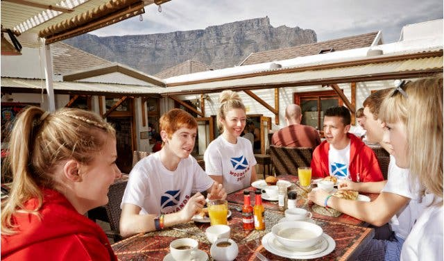 the backpack backpackers in cape town