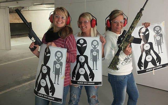 from Vihaan bottomless girls shooting guns