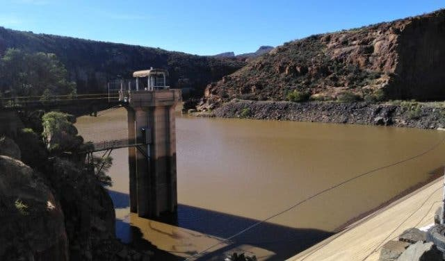 Gamka dam in beaufort west reaches 45%