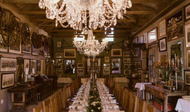 Giant Candelabras In The Dining Hall For A Meal To Be Remembered Buffet Hours Sundays 1230pm 230pm Price R345 Per Person Children U 12 Varies