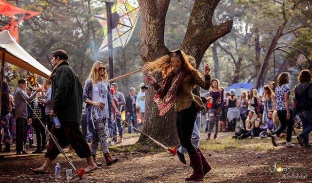 2017 Vortex Phoenix Festival Of Fire In Riviersonderend