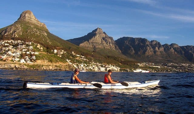 Image result for kayaking cape town