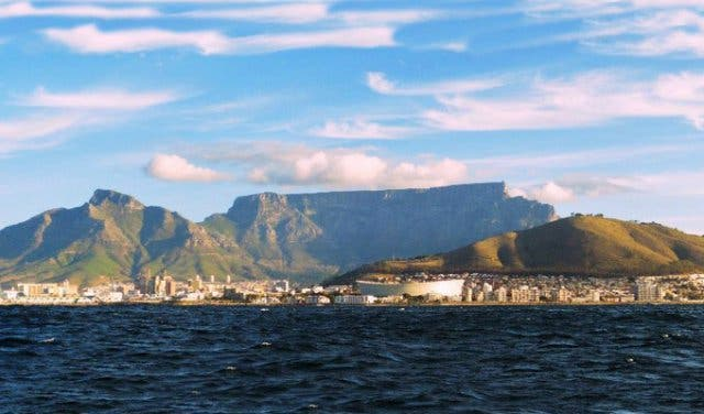 A Typical Winters Day In Cape Town
