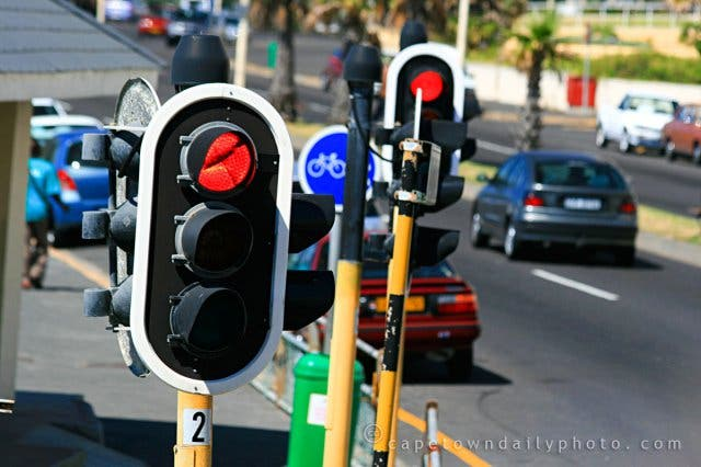 verkeerslichten kaapstad