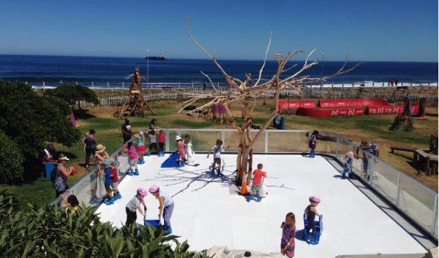 outdoor ice rink in cape town