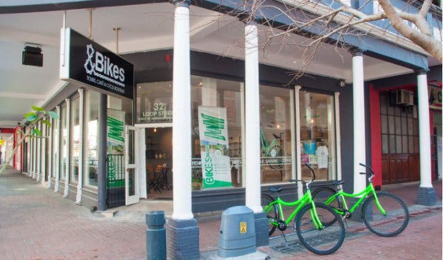 andbikes cafe in cape town