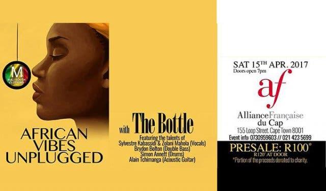 vente pas cher gamme de couleurs exceptionnelle vente chaude pas cher 2017 African Vibes Unplugged at Alliance Francaise du Cap
