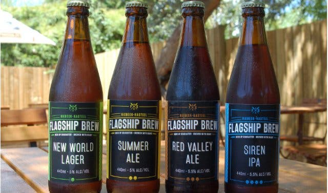 Flagship Brew at Riebeek Kasteel