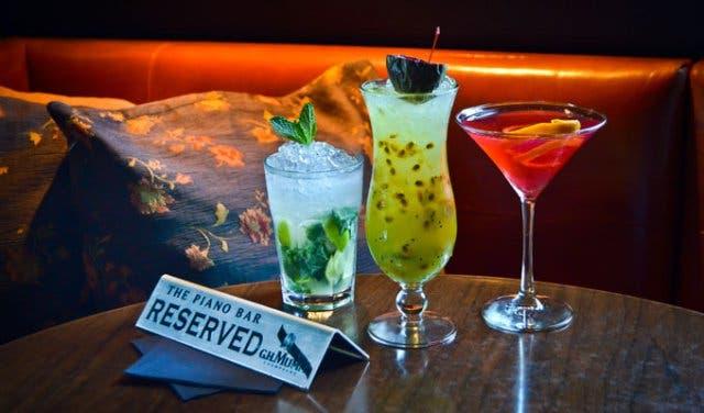 Piano Bar Cocktails
