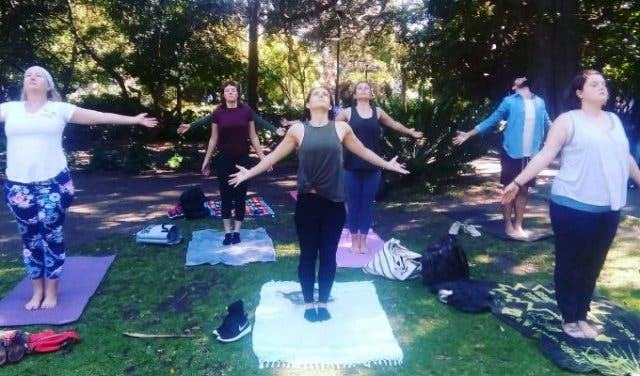 Outdoor Yoga For Everyone With The Om Revolution