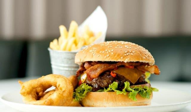 Cafe Caprice Burger Cape Town