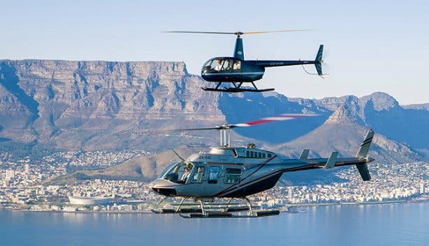 Helicopter Rides In Cape Town  Heli Tours Sightseeing Flights Things To Do