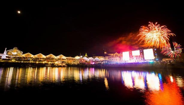 Waterfront New Year´s Eve