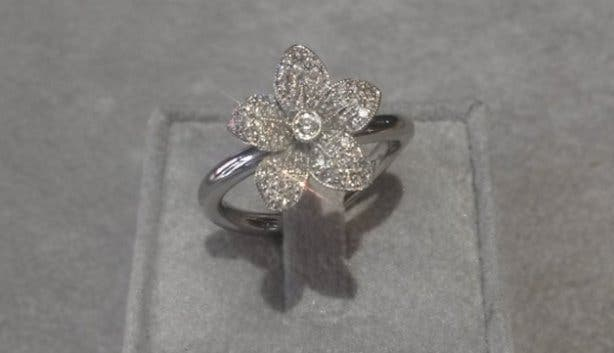 Diamond Lily Rings At Linde Collection Custom Designer