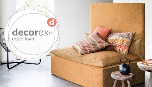 2015 decorex cape town at the cticc design for living for Home decor expo 2015