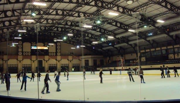 ice rink at grandwest casino
