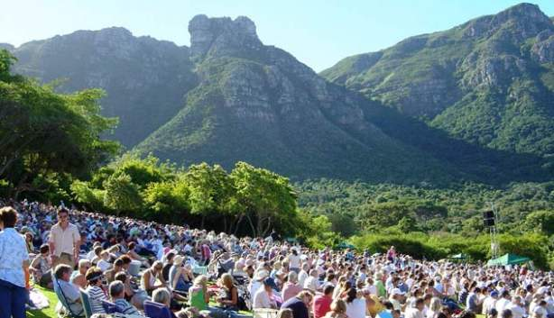 Kirstenbosch summer concert series line up 2018 2019 for Botanical gardens concert series